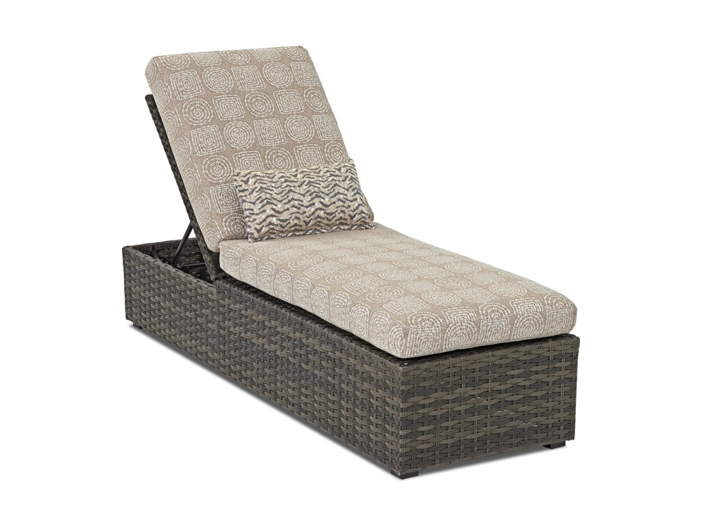 Klaussner Outdoor  CascadeOutdoor Chaise