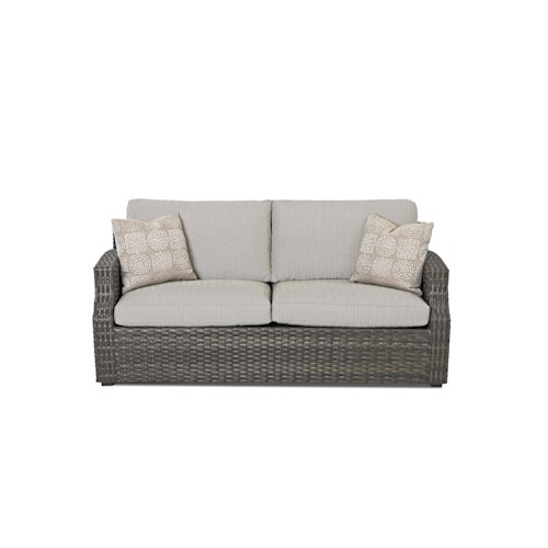 Klaussner Outdoor  Cascade Outdoor Sofa