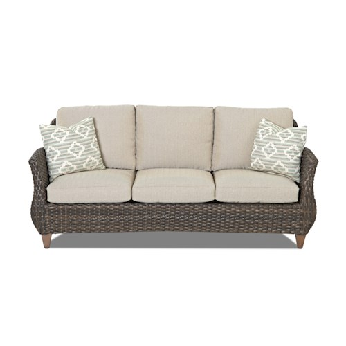 Klaussner Outdoor  Sycamore Outdoor Sofa