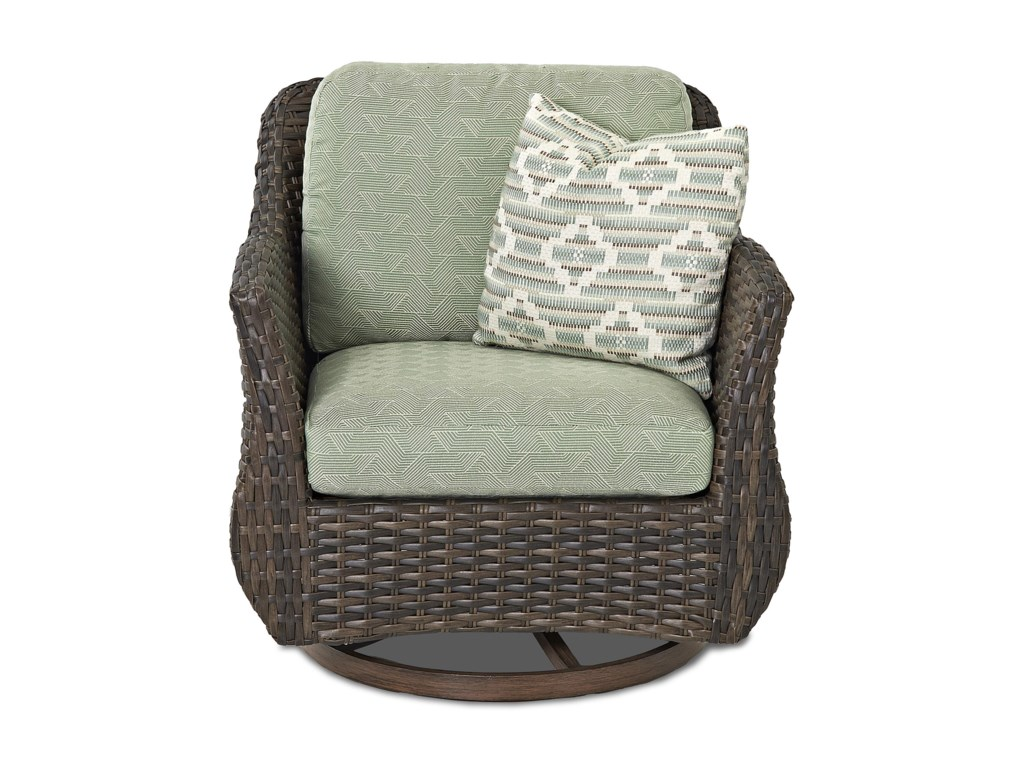 Klaussner Outdoor  SycamoreOutdoor Swivel Glider Chair