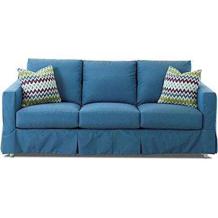 Extra Large Sofa w/ Drainable Cushion