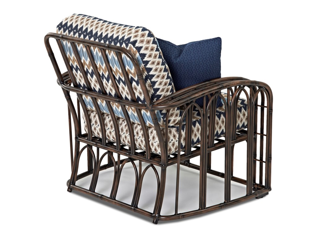 Klaussner Outdoor CapellaChair and Ottoman Set