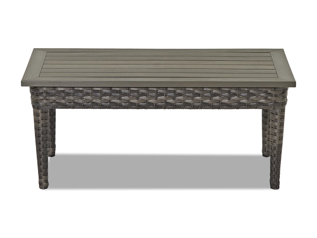 Klaussner Outdoor CascadeRectangular Cocktail Table
