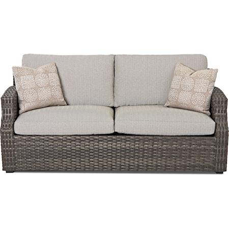 Outdoor Sofa w/ Custom Fabrics