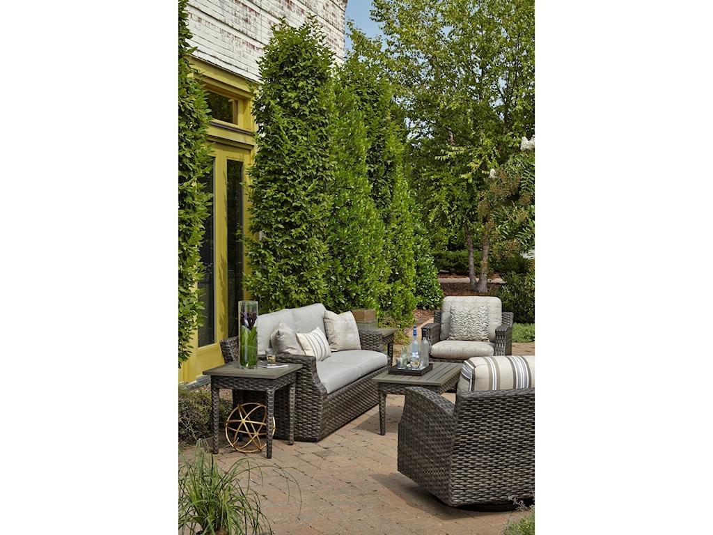 Klaussner Outdoor CascadeOutdoor Sofa w/ Custom Fabrics