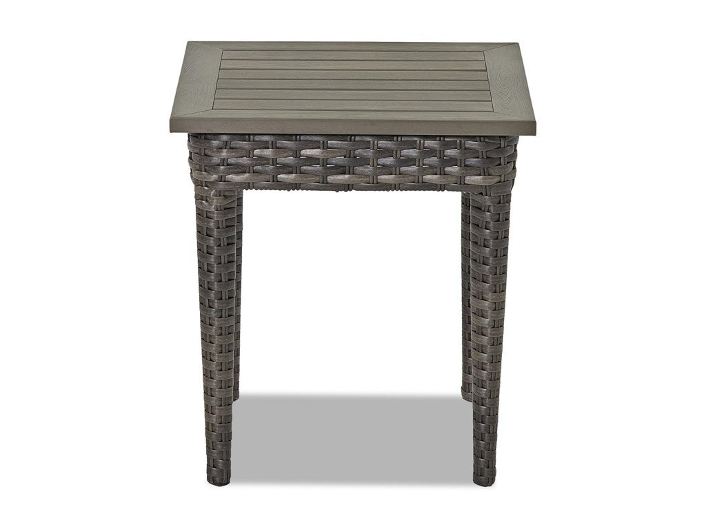 Klaussner Outdoor CascadeSquare End Table