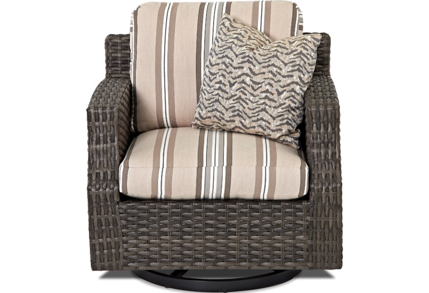 W5000 Scdr Outdoor Swivel Glider Chair