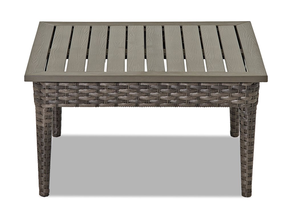 Klaussner Outdoor CascadeSquare Cocktail Table