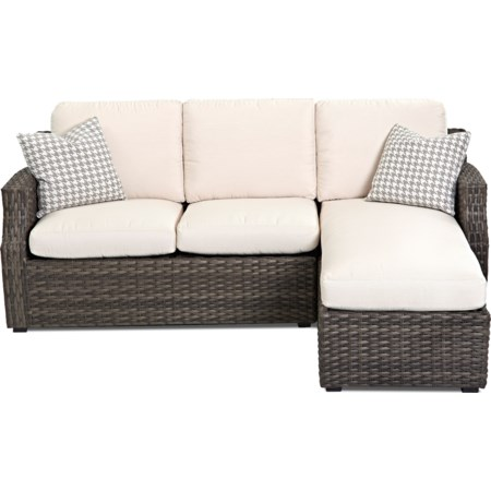 Outdoor Sectional Sofa (Reversible Cushion)