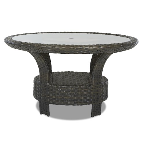 Klaussner Outdoor Cassley 54 Inch Round Dining Table