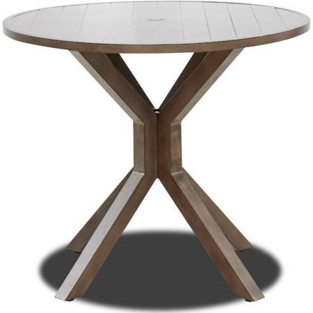 """Outdoor 42"""" Counter Height Pub Table"""