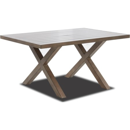 """Outdoor 60"""" Dining Table"""