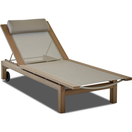 Outdoor Chaise - Sling