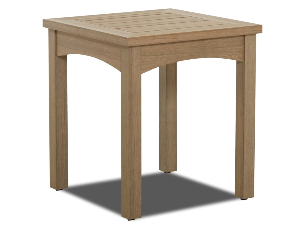 Klaussner Outdoor DelrayOutdoor Square Accent Table
