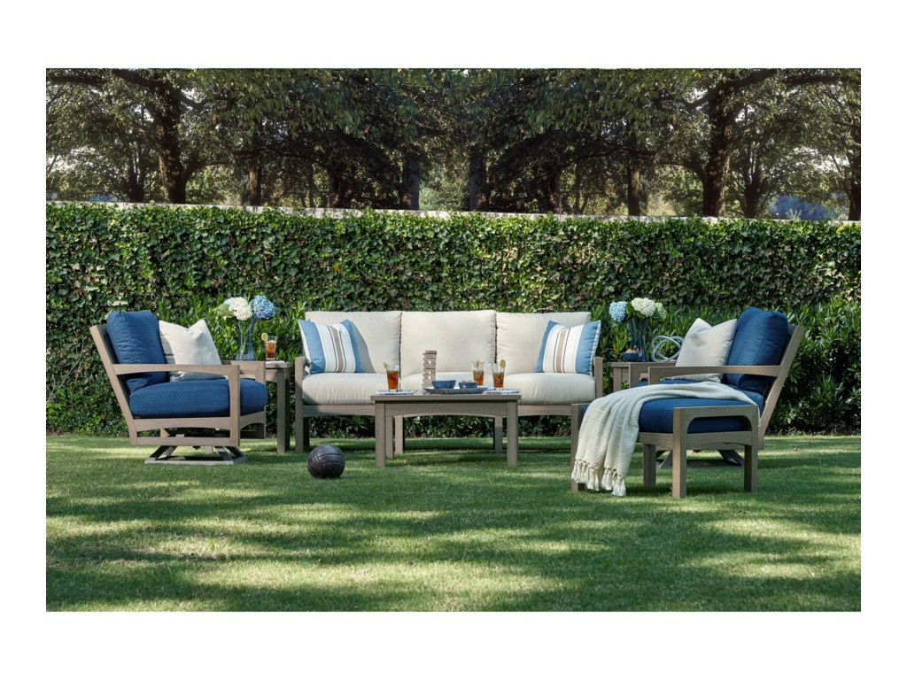 Klaussner Outdoor DelrayOutdoor Square End Table