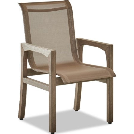 Set of 2 Sling Dining Chairs