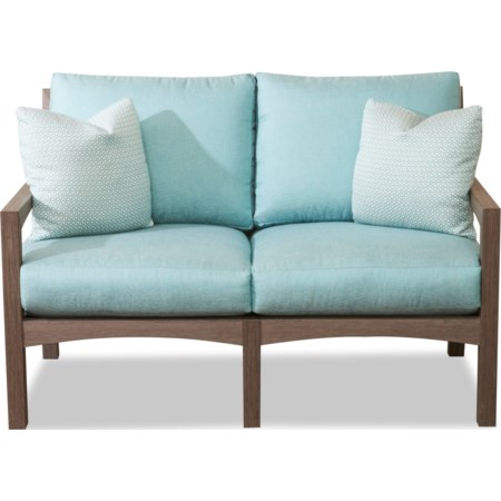 Loveseat w/ Drainable Cushion