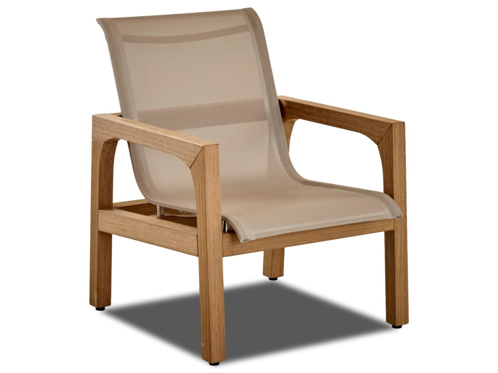 Klaussner Outdoor DelraySling Chair