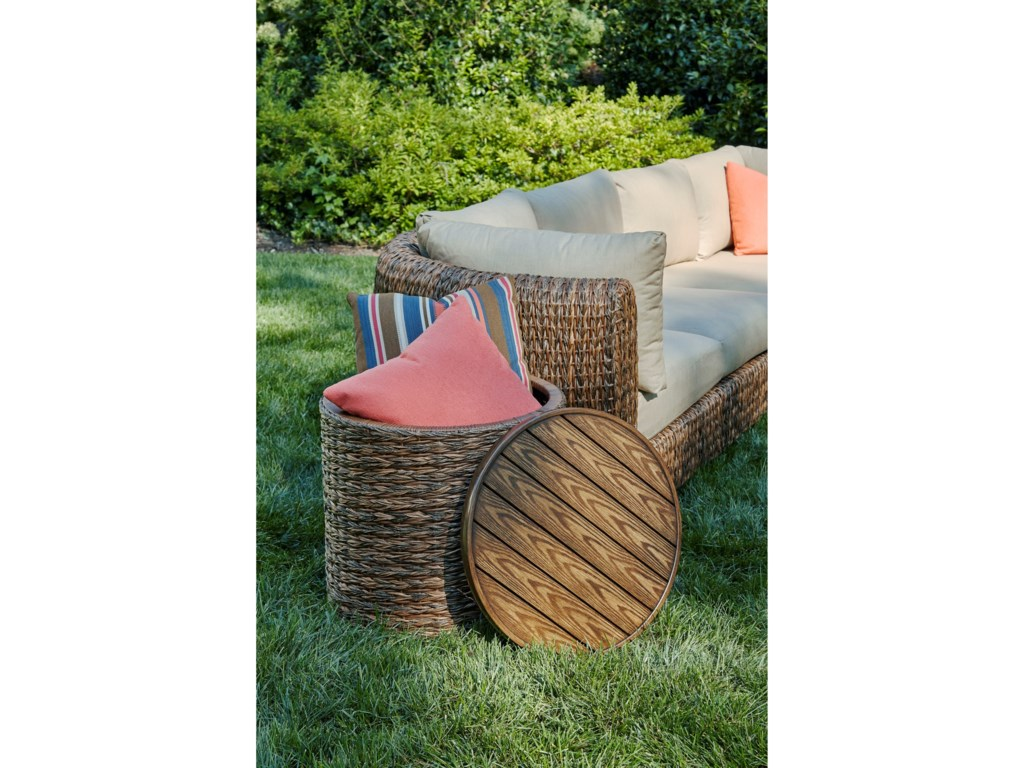 Klaussner Outdoor LantanaRound End Table