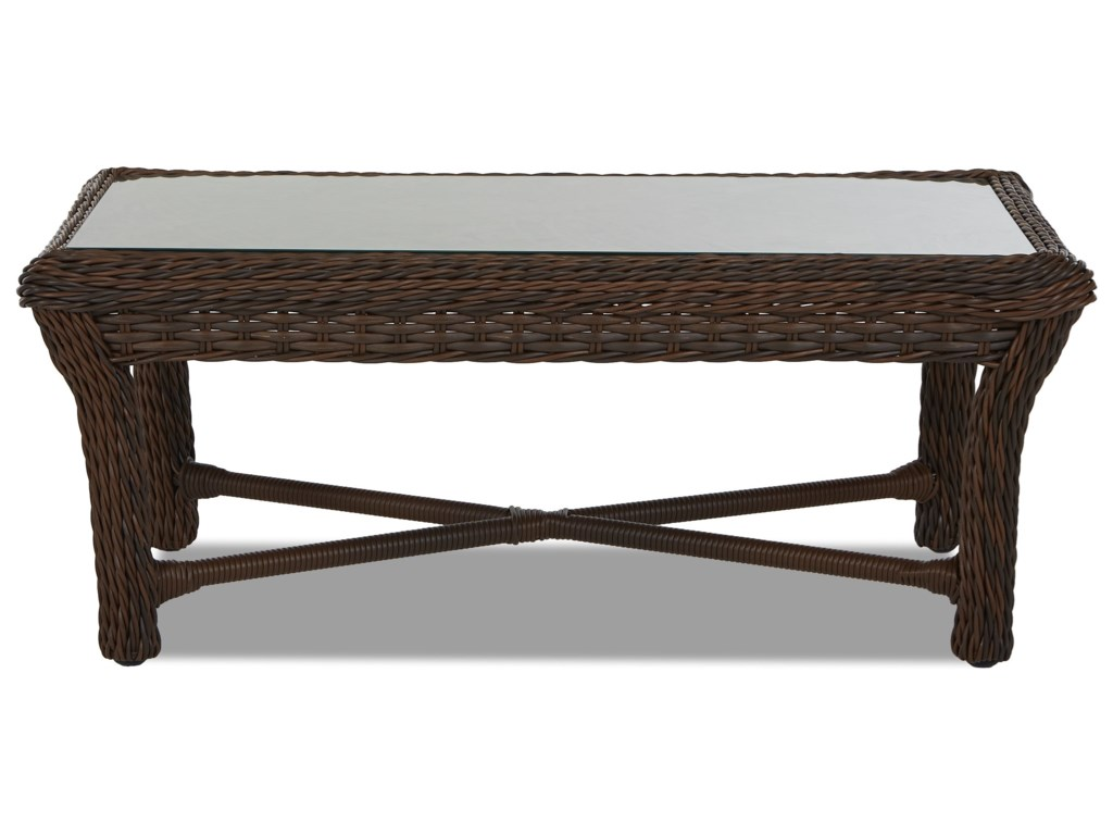 Klaussner Outdoor LaurelRectangular Cocktail Table