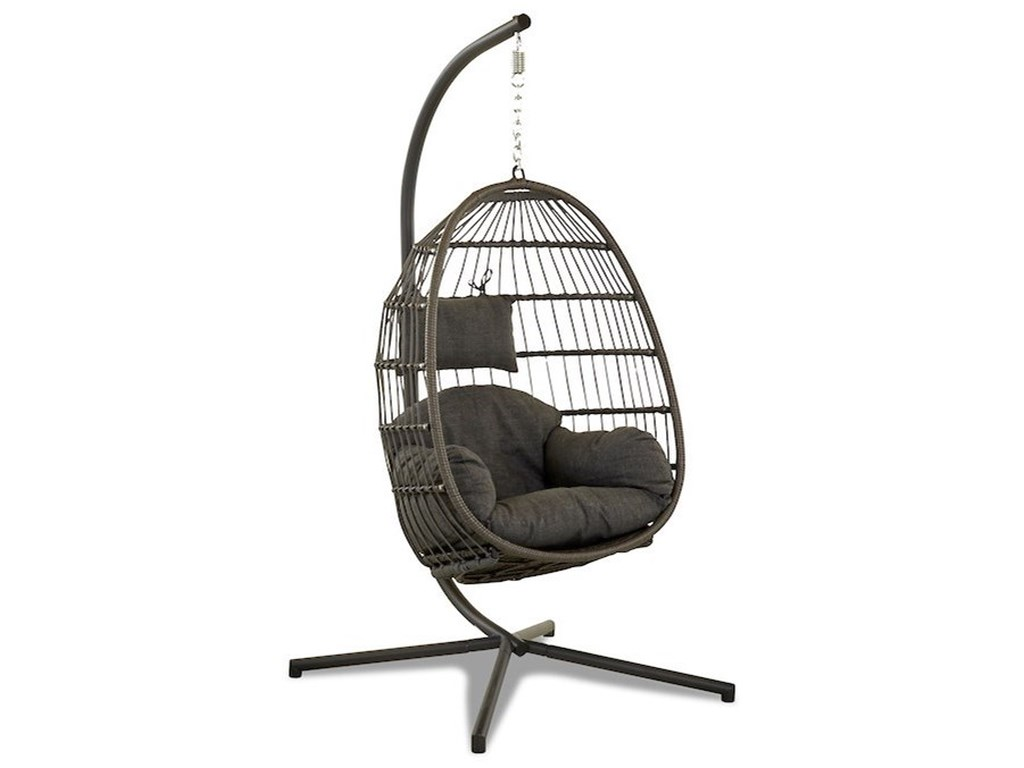 Klaussner Outdoor Leisure ItemsSingle Swing and Stand