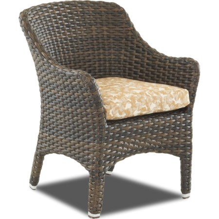 2 Pack Dining Chair with Drainable Cushion
