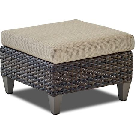 Ottoman with Drainable Cushion