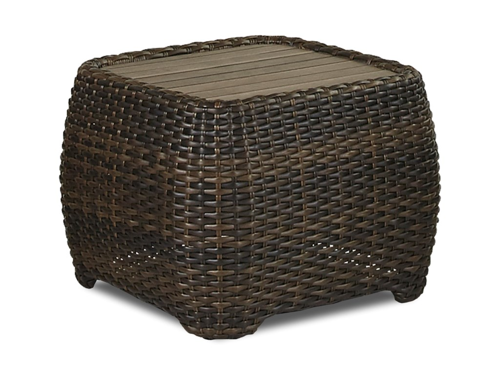 Klaussner Outdoor TobagoRectangular End Table