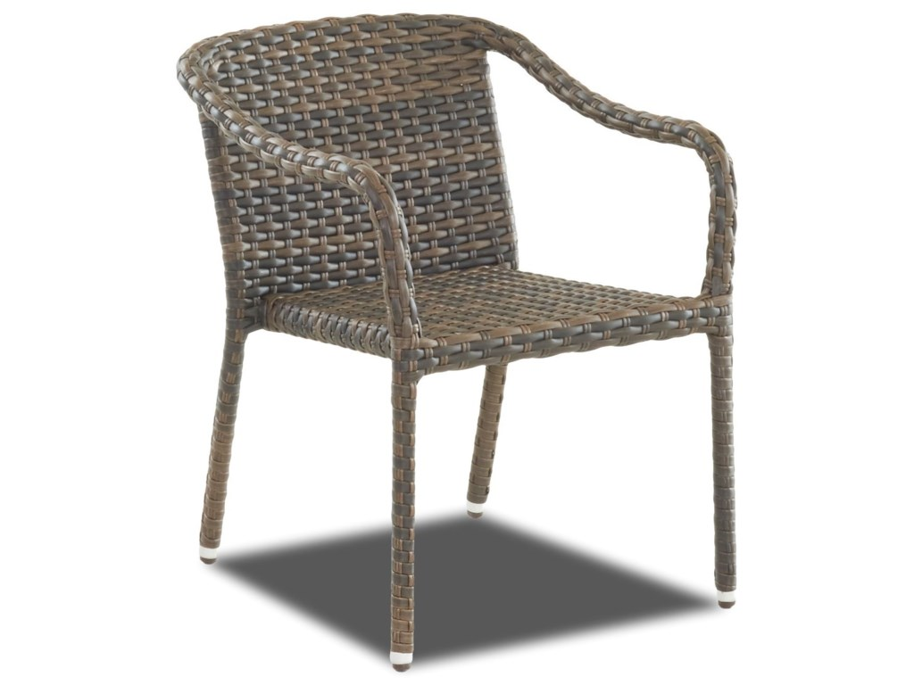 Stackable Colored Outdoor Dining Chairs Zion Star