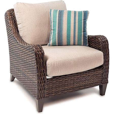 Chair with Drainable Cushion