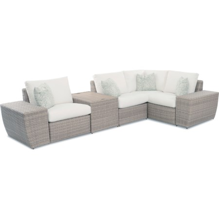 Rosa 3 Seat Sectional