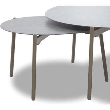 Large Round Outdoor Accent table