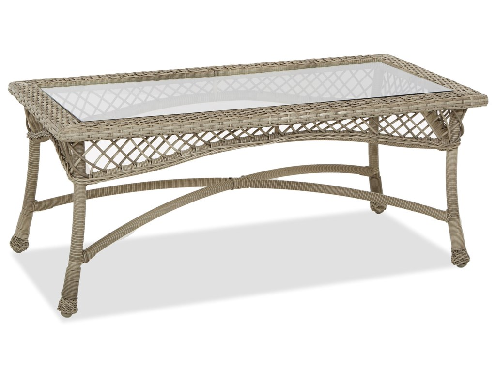 Klaussner Outdoor WillowRectangular Cocktail Table