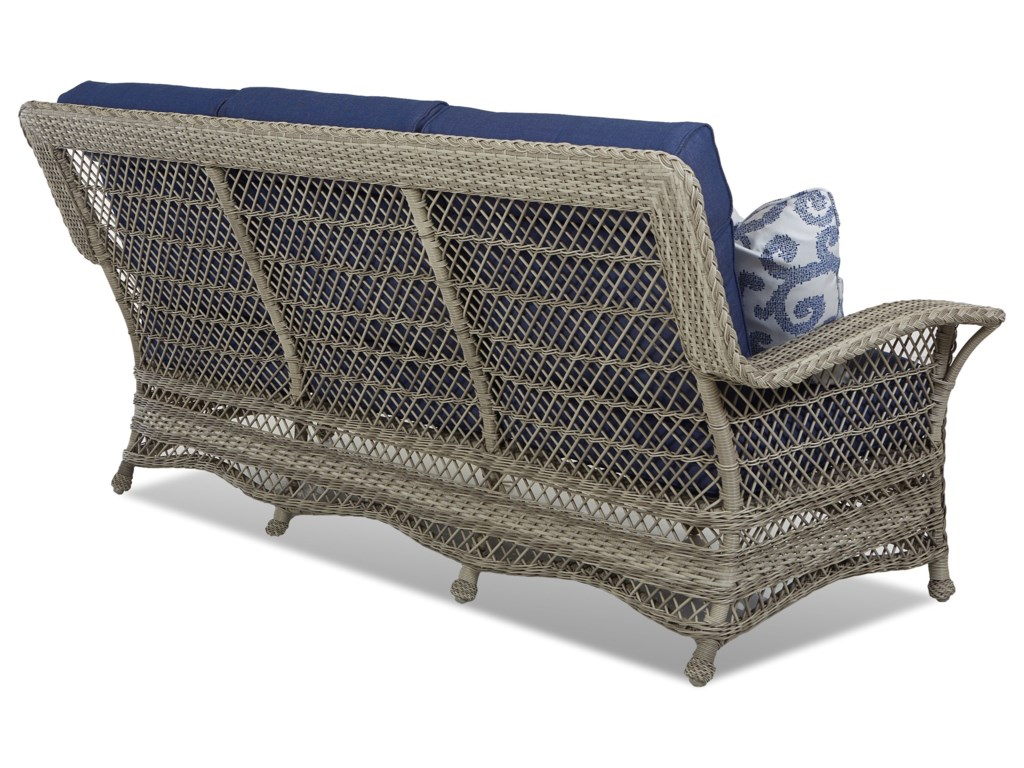 Klaussner Outdoor WillowSofa w/ Reversible Cushion