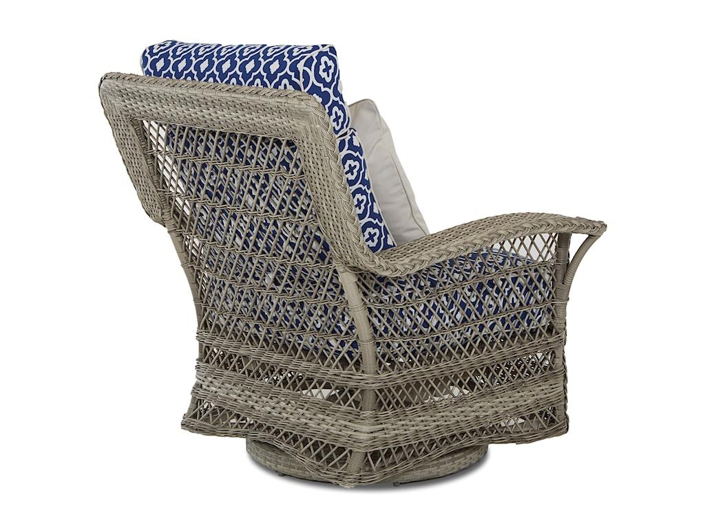 Klaussner Outdoor WillowSwivel Glide Chair
