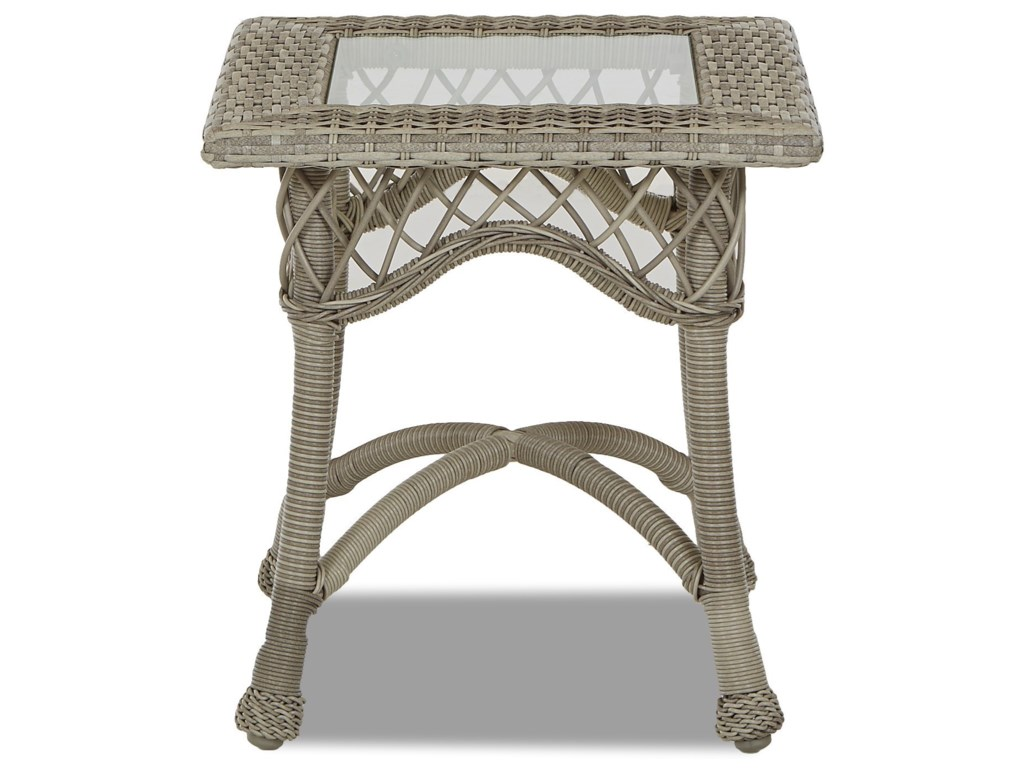 Klaussner Outdoor WillowSquare Accent Table