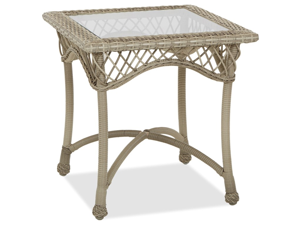 Klaussner Outdoor WillowSquare End Table