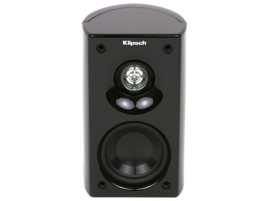 Satellite Speaker Shown Without Grille