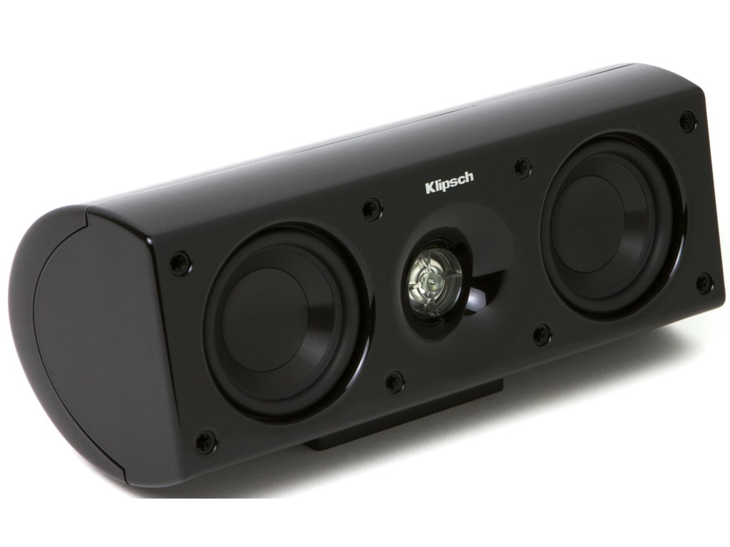 Center Channel Speaker Shown Without Grille