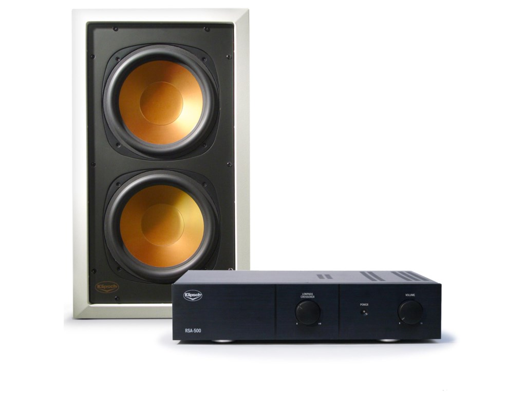 Works with the RW-5101-C In-Ceiling Subwoofer