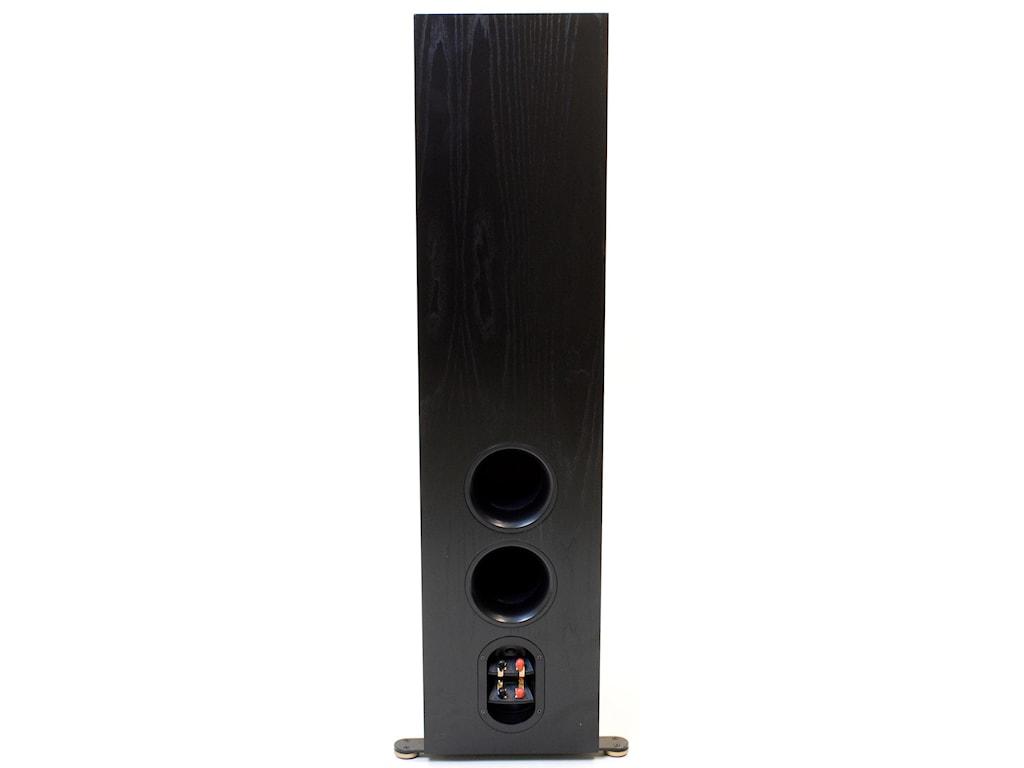 Bass-Reflex via Dual Rear-Firing Ports