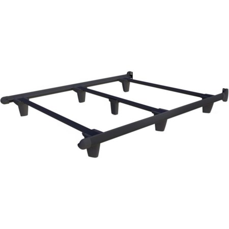Queen Charcoal Black Bed Frame