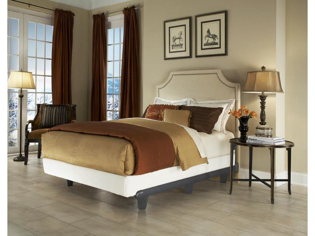 Knickerbocker Embrace Bed FramesQueen Grey Bed Frame