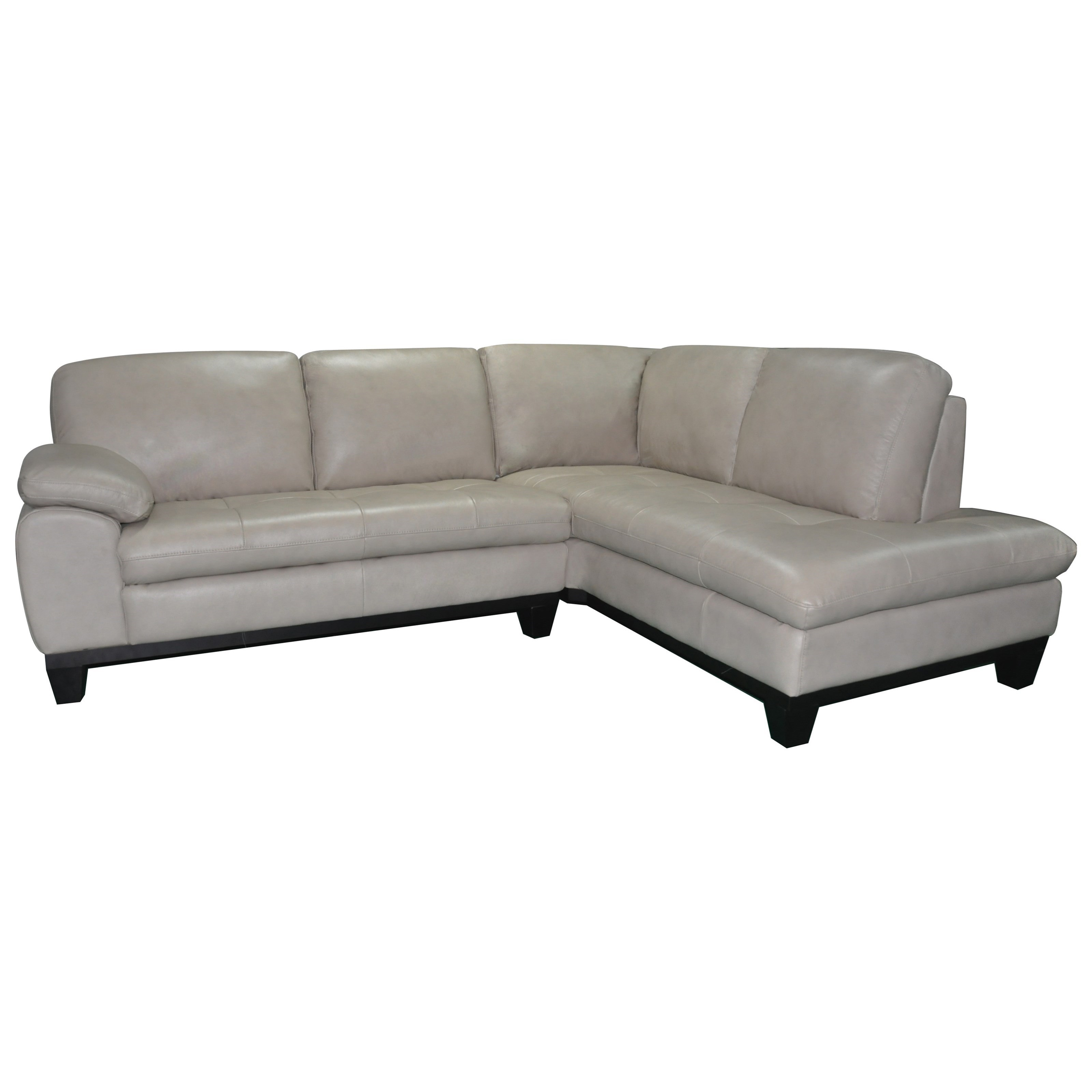 1263 Two Piece Sectional Sofa With RAF Chaise   Becker Furniture World   Sectional  Sofas