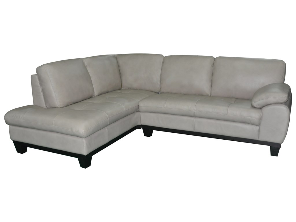 BFW Lifestyle 12632 Pc Sectional Sofa w/ LAF Chaise