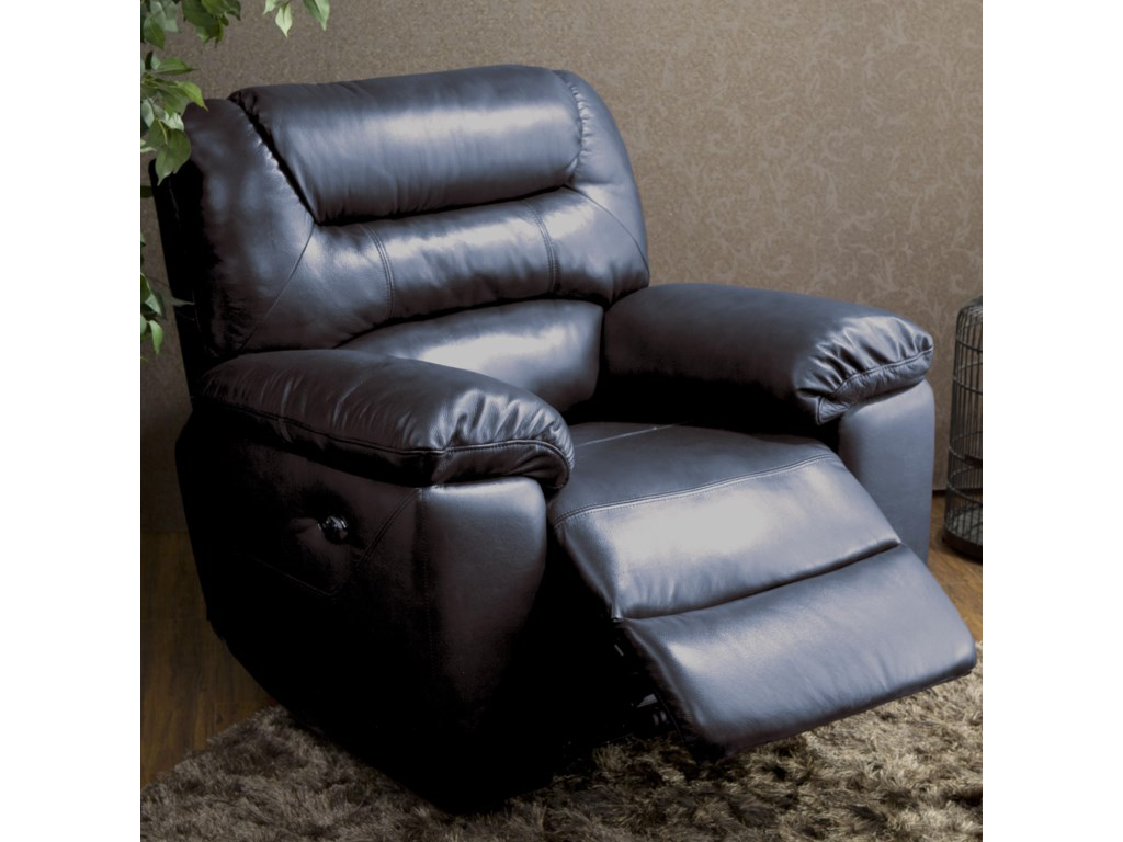 Kuka Home 1711Causal Glider Recliner