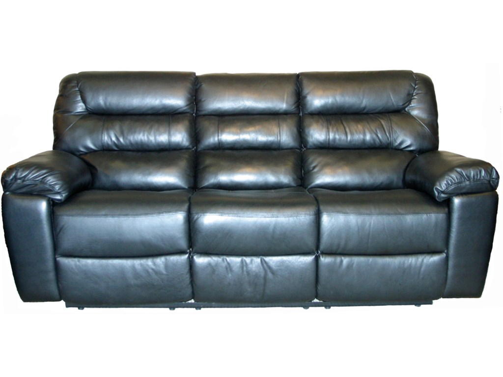 Kuka Home 1711Casual Three Seat Sofa