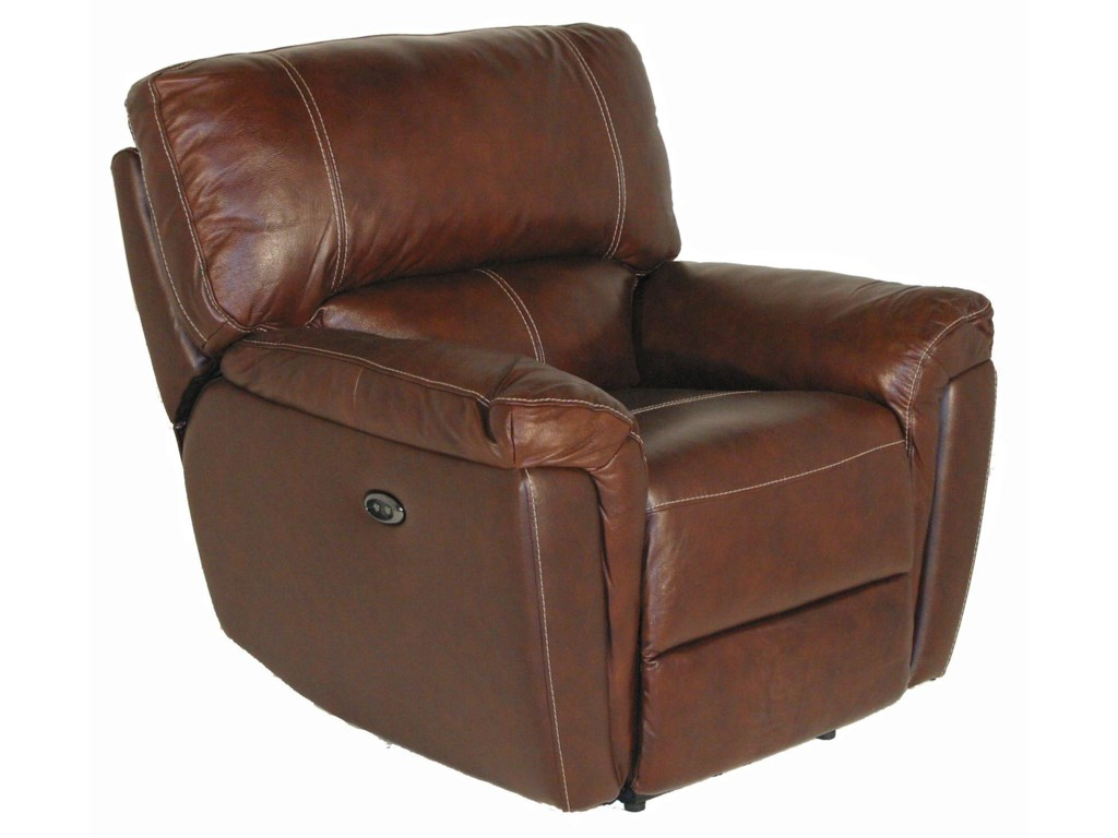Kuka Home 1738Casual Glider Recliner