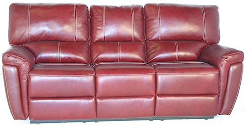 Kuka Home 1738 Casual Power Reclining Sofa