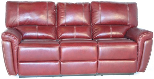 Kuka Home 1738 Casual X Reclining Sofa